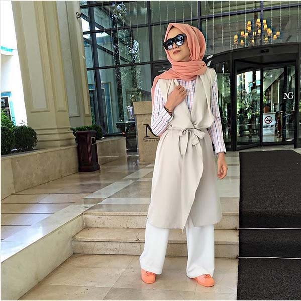 Looks Hijab Légers et Confortables11