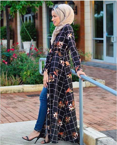 Looks Hijab Légers et Confortables12