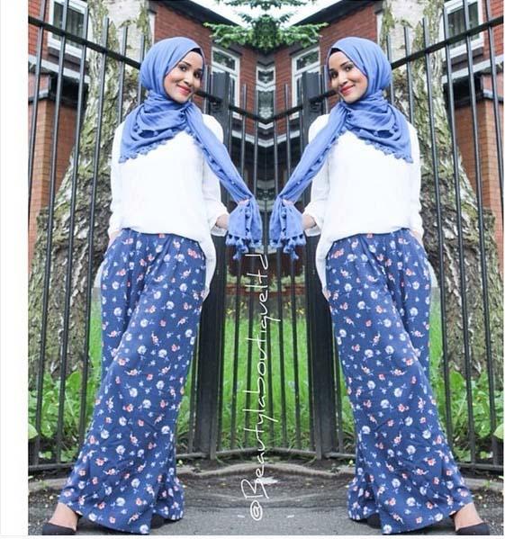Looks Hijab Légers et Confortables13