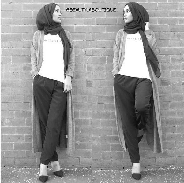 Looks Hijab Légers et Confortables14