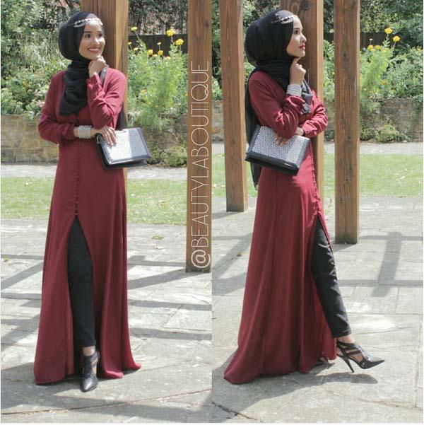 Looks Hijab Légers et Confortables16