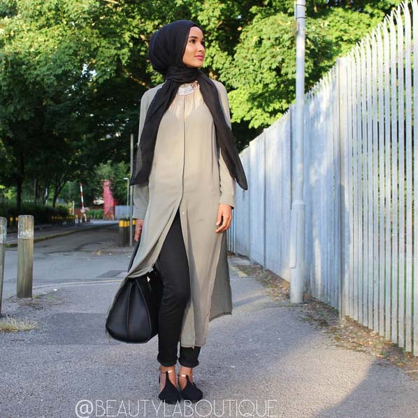 Looks Hijab Légers et Confortables17
