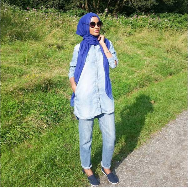 Looks Hijab Légers et Confortables18