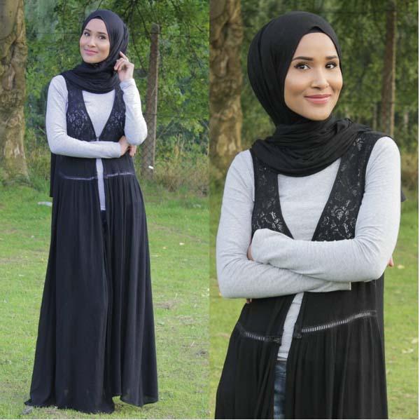 Looks Hijab Légers et Confortables21