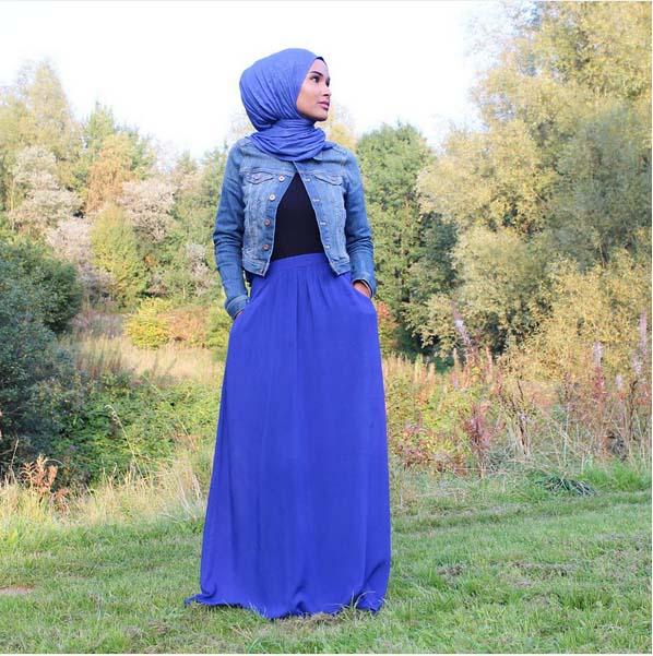 Looks Hijab Légers et Confortables23