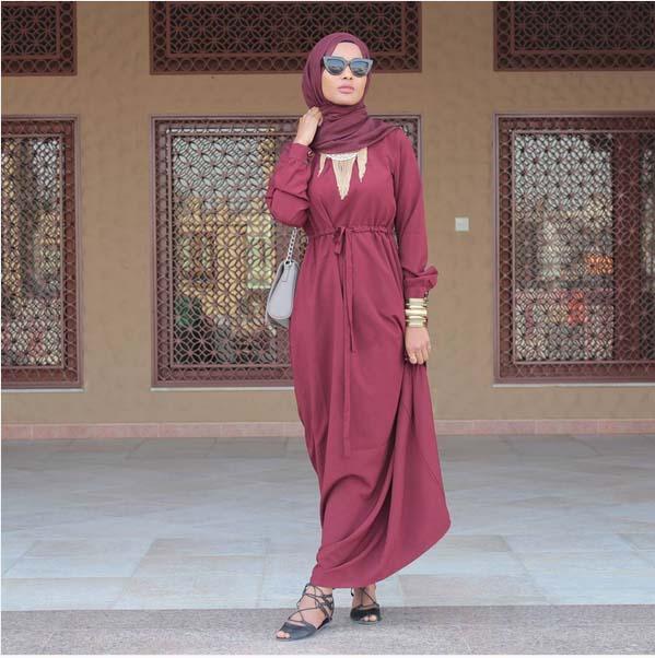 Looks Hijab Légers et Confortables24