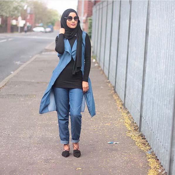 Looks Hijab Légers et Confortables25