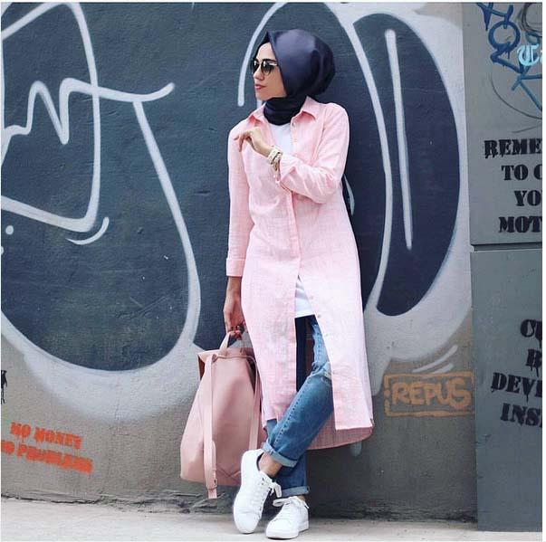 Looks Hijab Légers et Confortables5