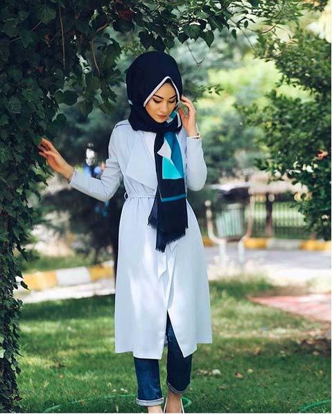Looks Hijab Légers et Confortables7