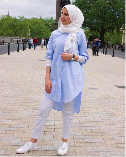 Looks Hijab Légers et Confortables8