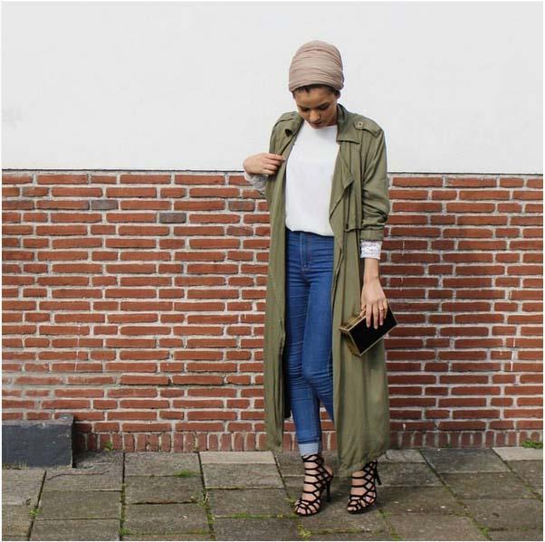 Looks Hijab Légers et Confortables9