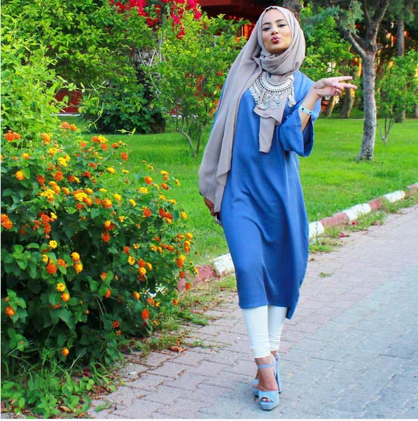 Looks Hijab Modernes