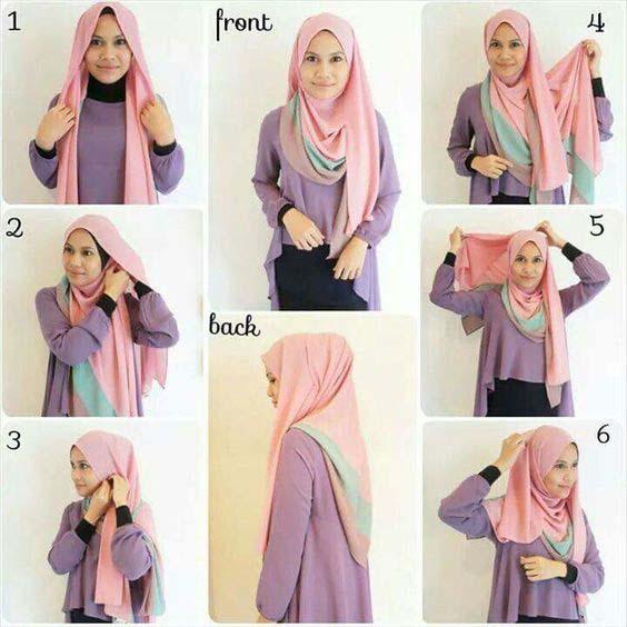 Mettre Le Hijab Moderne6