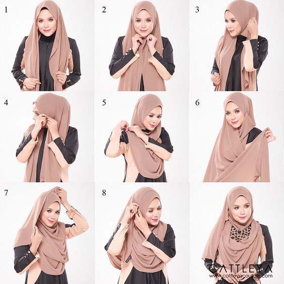 Mettre Le Hijab Moderne8