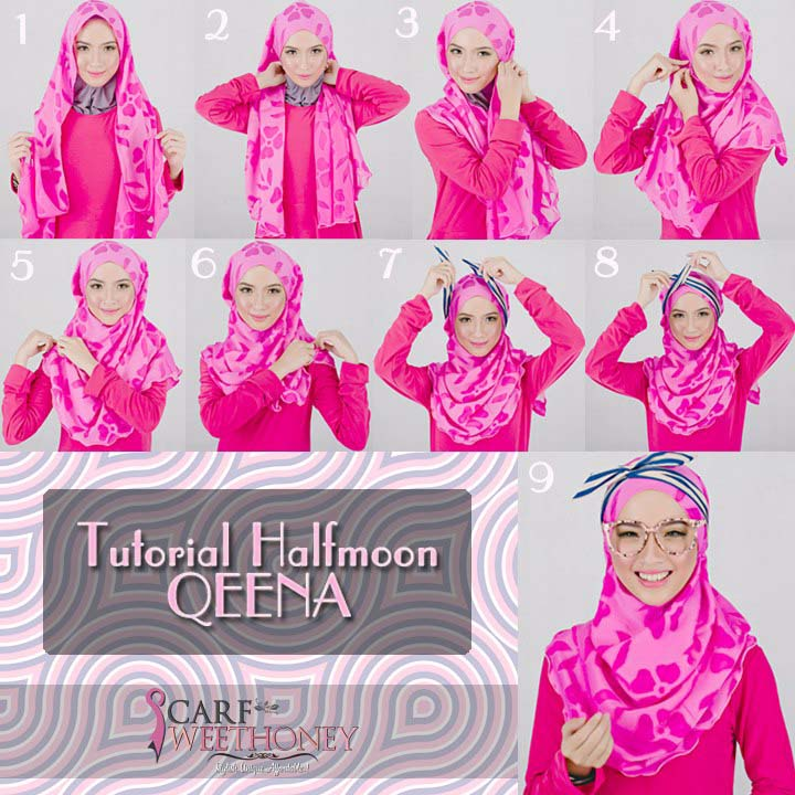 Mettre Son Hijab Moderne9