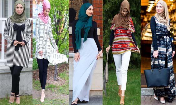 Quelle tenue de hijab porter pour aller au bureau en été 32 styles