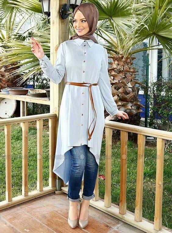 De L1jtk3fc Femme Hijab Mode La Chemise Le Son QrBtsohCxd