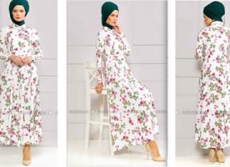 a8f44a291dd Robe Femme Voilée À Fleurs   Achetez Cette Jolie Robe Femme Voilée Pas Chère