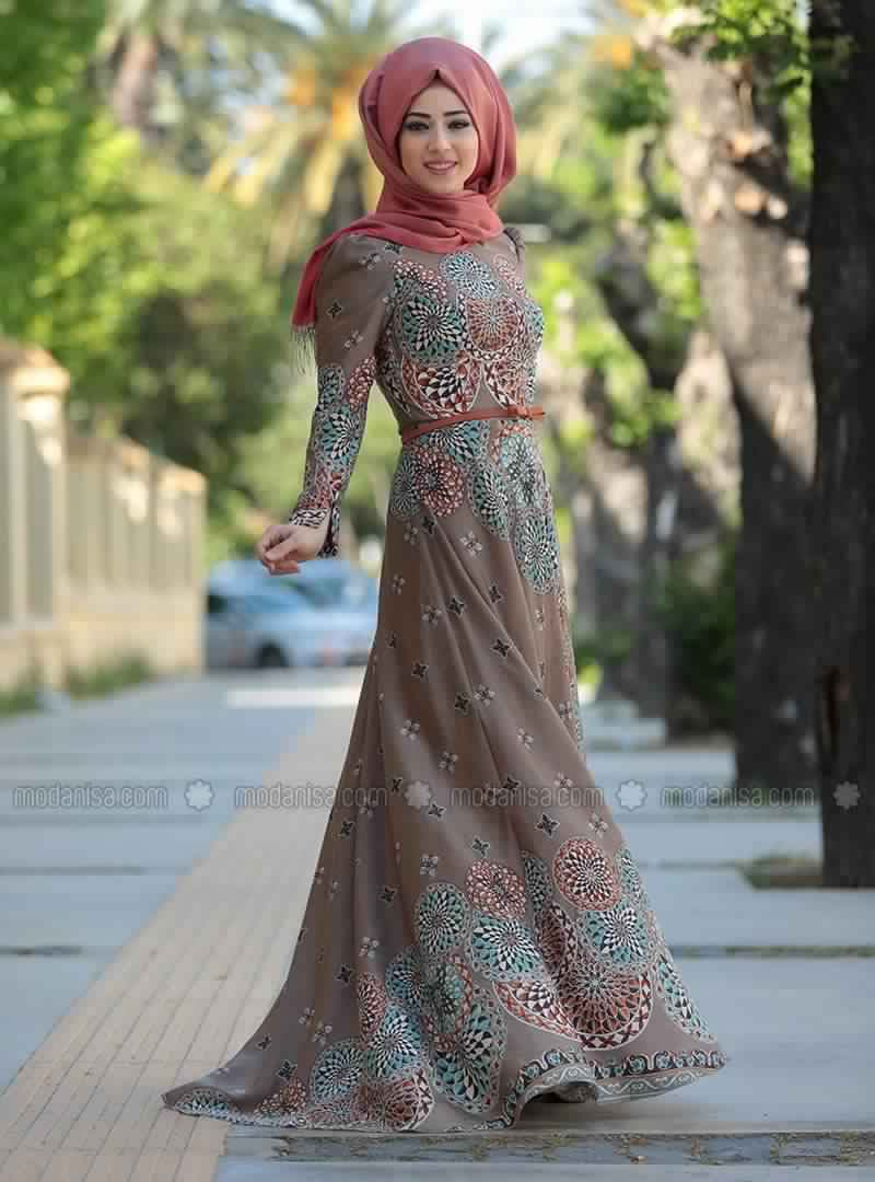 Robe Femme Voilée Modernes1