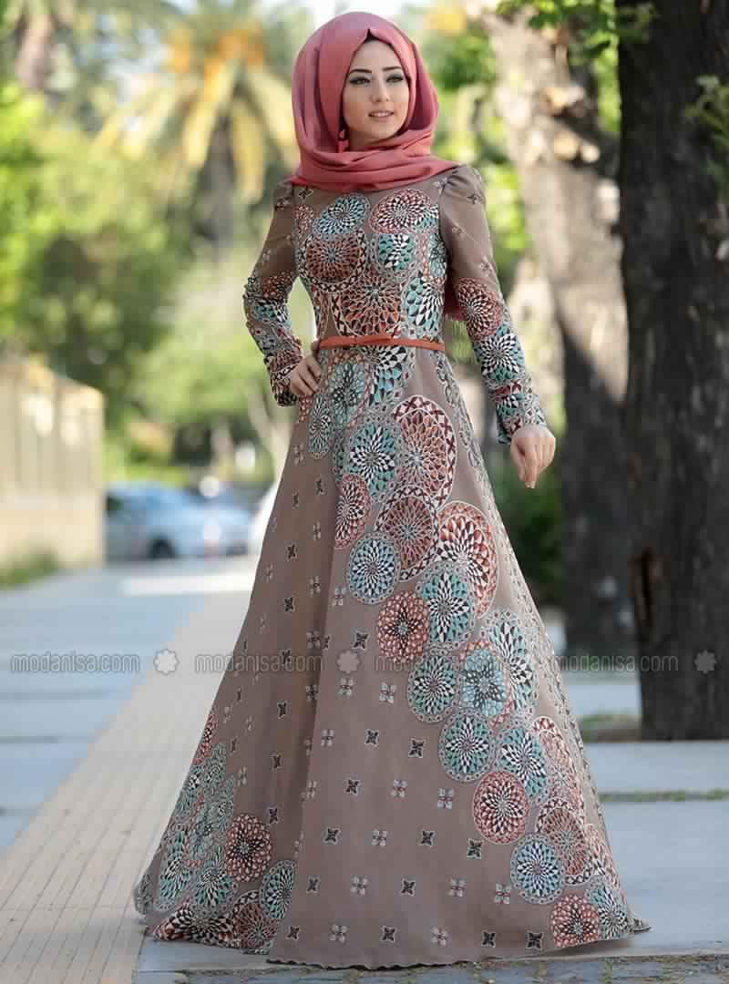Robe Femme Voilée Modernes5
