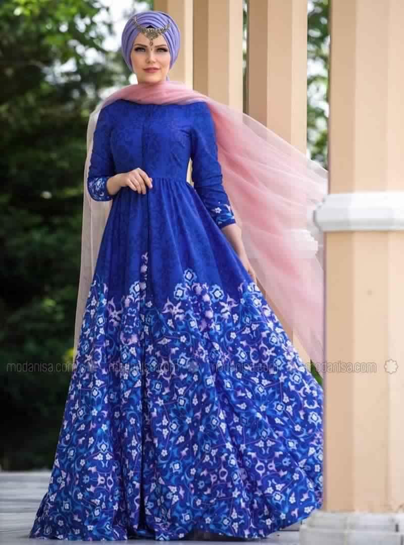 Robe Femme Voilée Sublime Pour La Fête De Ramadan2