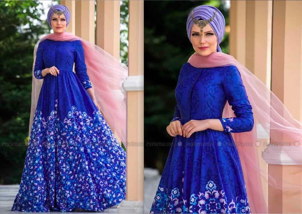 Robe Femme Voilée Sublime Pour La Fête De Ramadan3