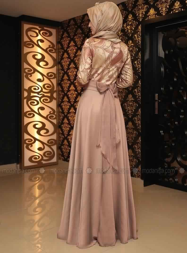 Robe Soirée Pour Femme Voilée