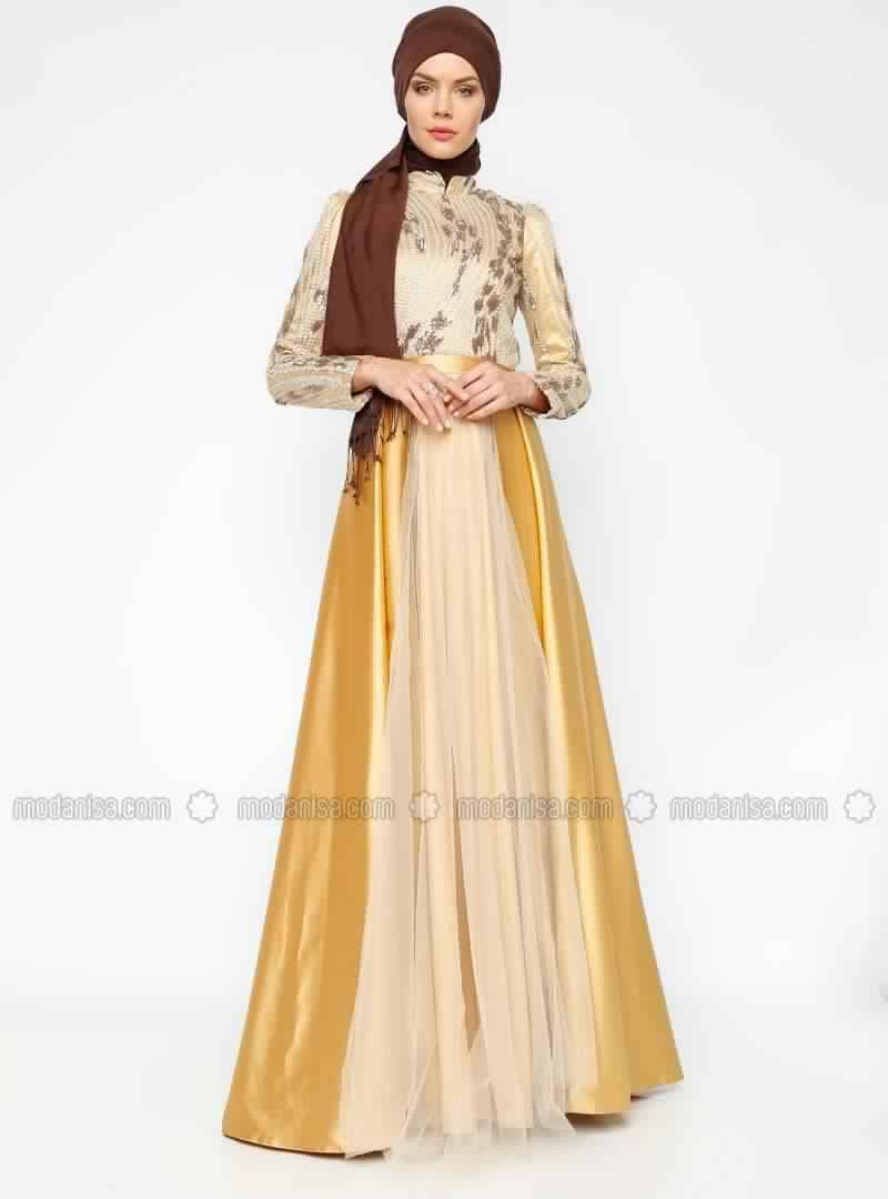 68b8536a41d Robe Soirée Pour Femme Voilée 10 - astuces hijab
