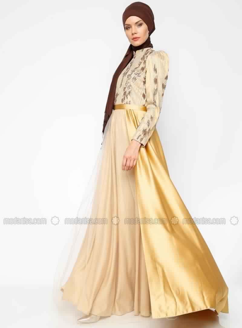 Robe Soirée Pour Femme Voilée 11