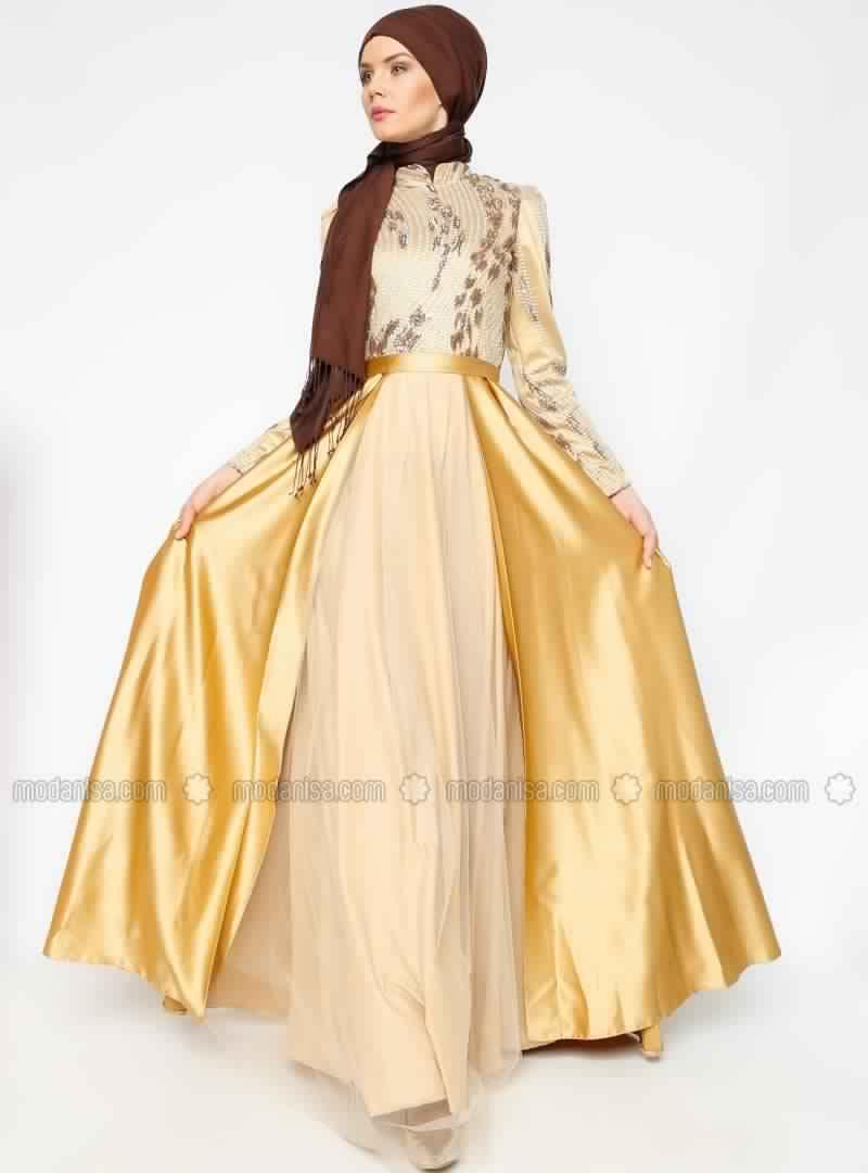 Robe Soirée Pour Femme Voilée 12