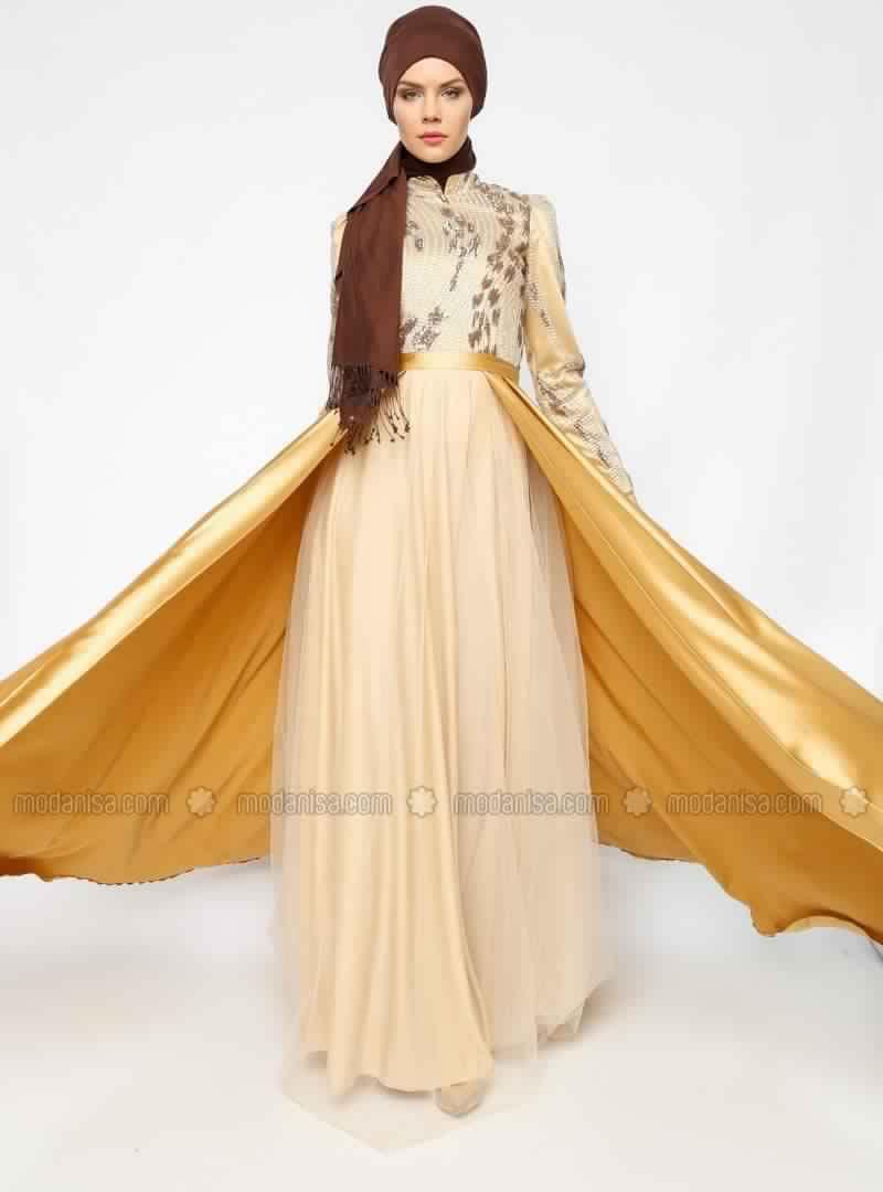 Robe Soirée Pour Femme Voilée 13