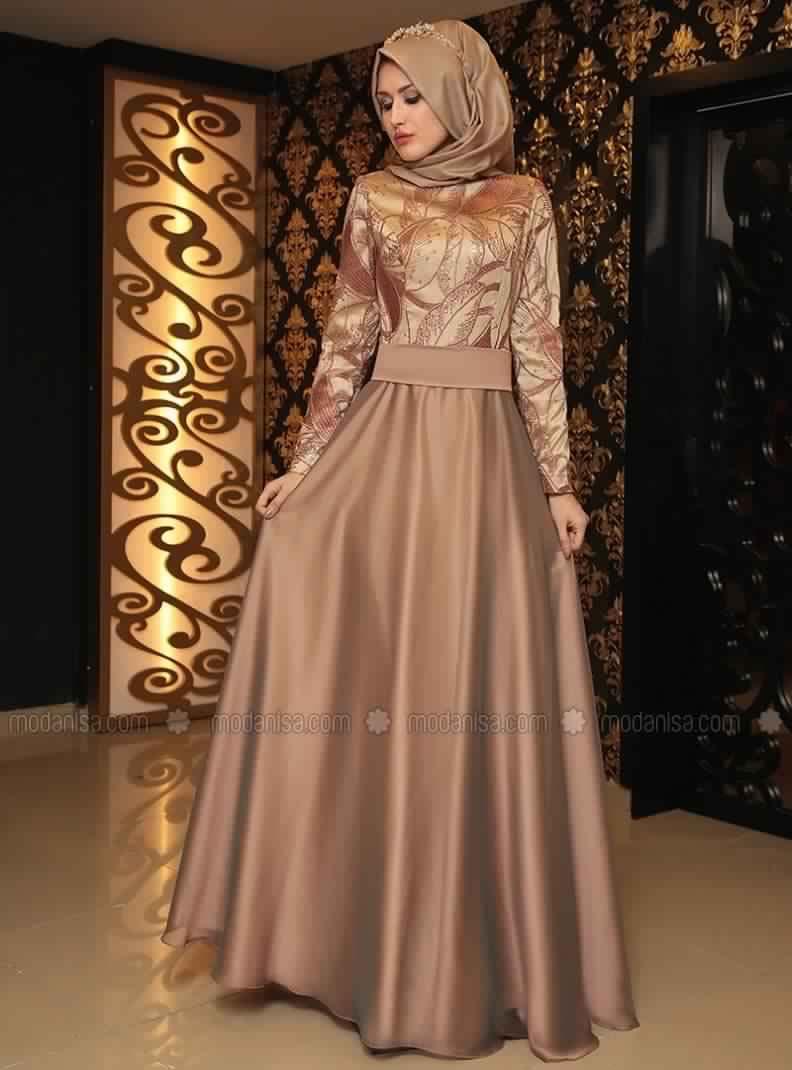 Robe Soirée Pour Femme Voilée 3