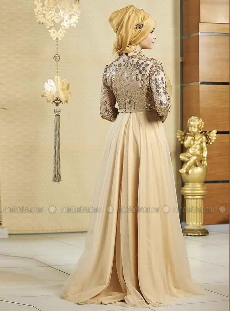Robe Soirée Pour Femme Voilée 4