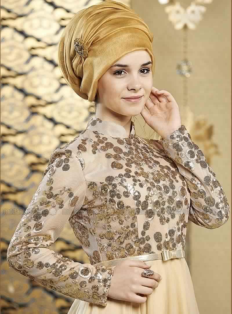 Robe Soirée Pour Femme Voilée 5
