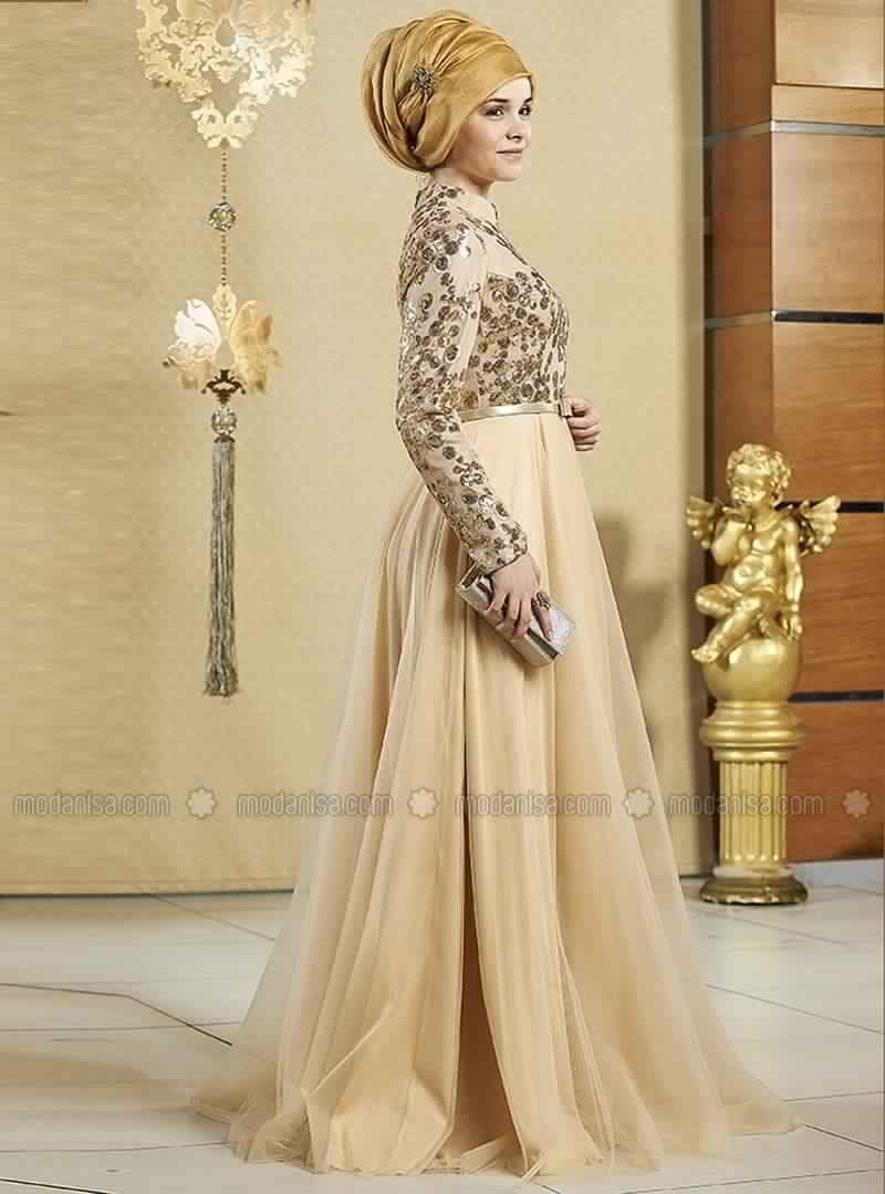 Robe Soirée Pour Femme Voilée 6