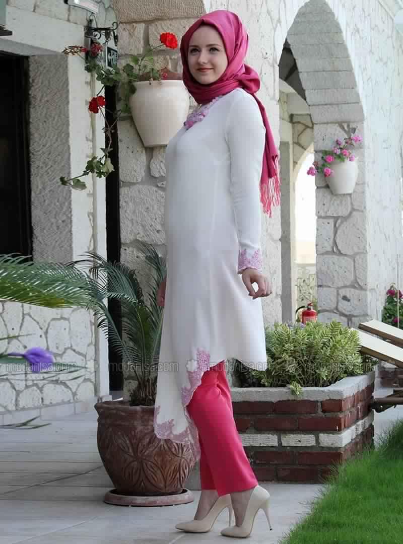 Robe Tunique Blanche2