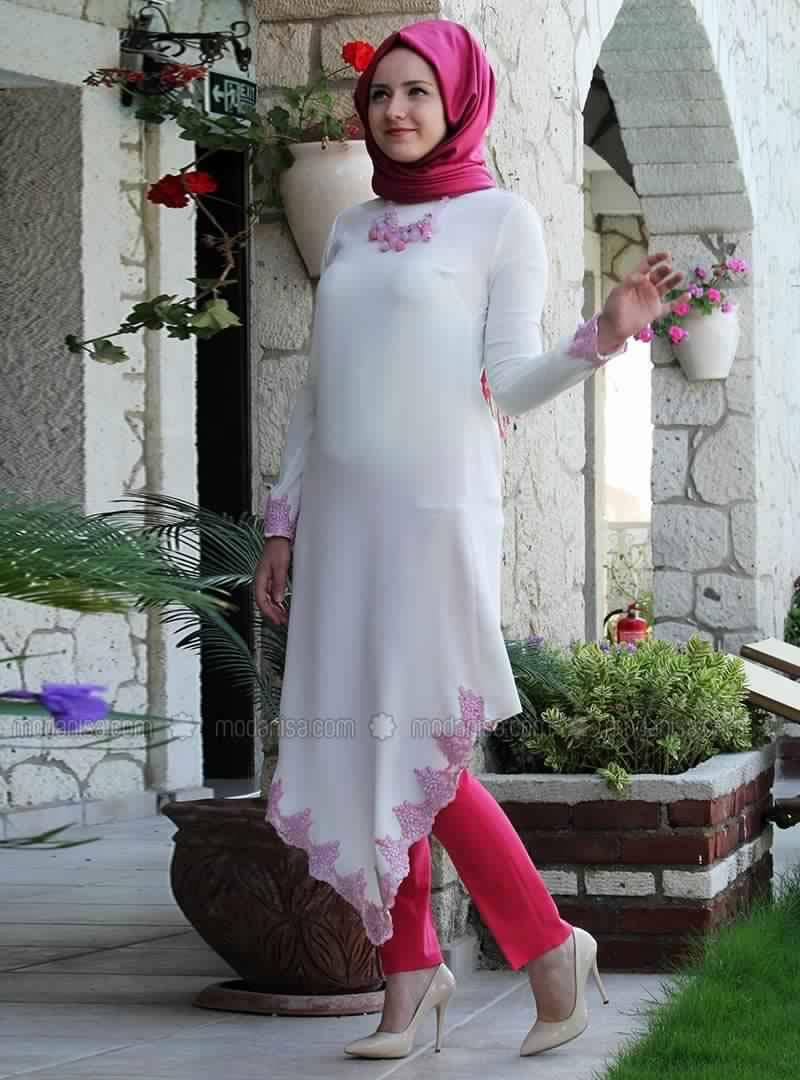 Robe Tunique Blanche3