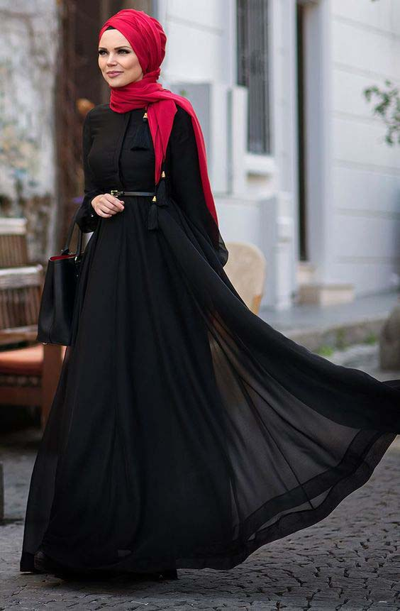 Robes Pour Femme voilée1