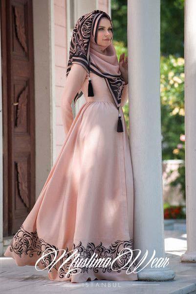 Les belles robes hijab