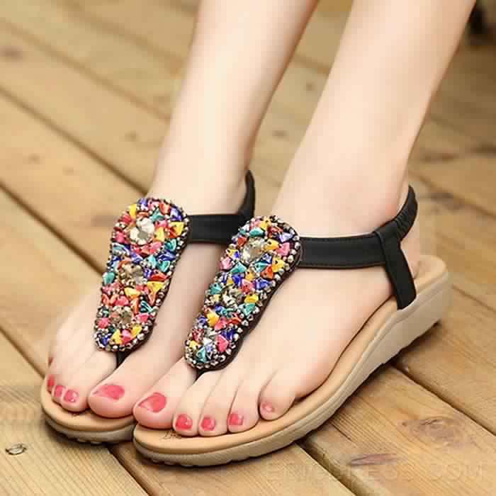 Sandales Plates13