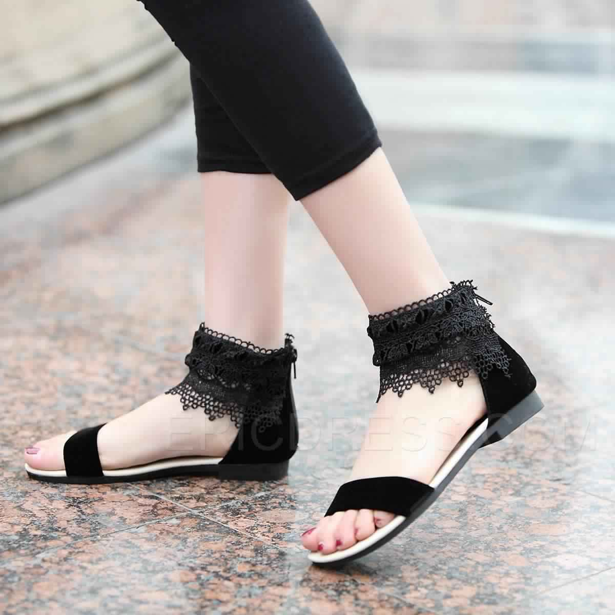 Sandales Plates15