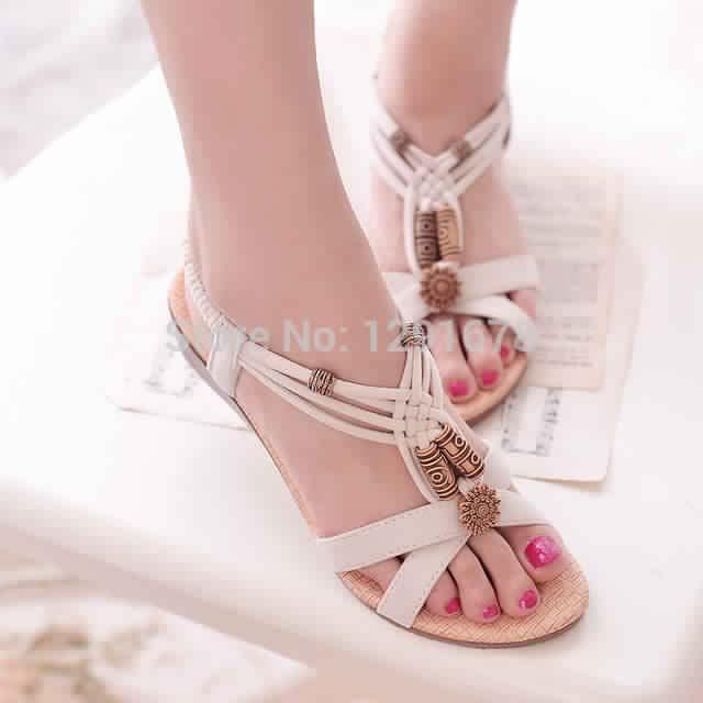 Sandales Plates6