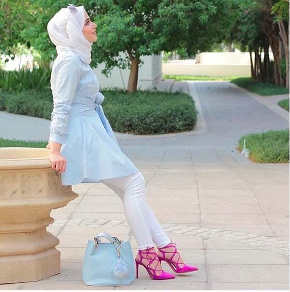 Style Hijab Moderne Pour été
