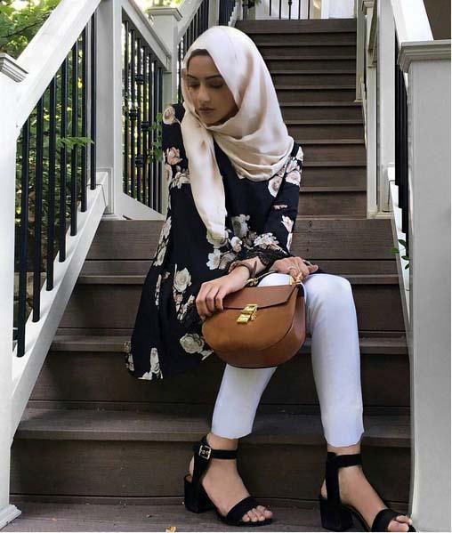 Style Hijab Moderne Pour été10