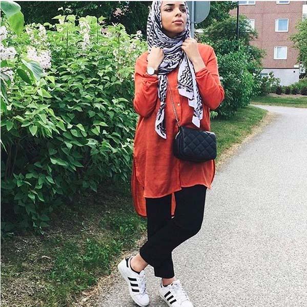 Style Hijab Moderne Pour été15