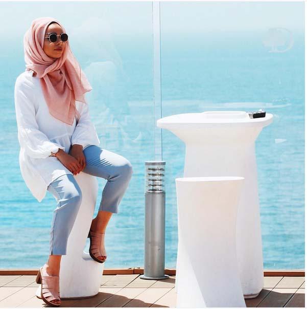 Style Hijab Moderne Pour été16