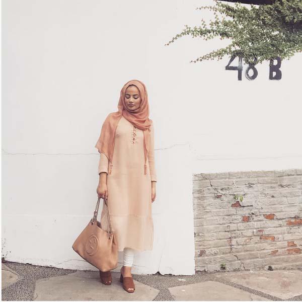 Style Hijab Moderne Pour été2
