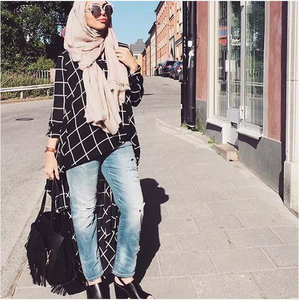 Style Hijab Moderne Pour été23