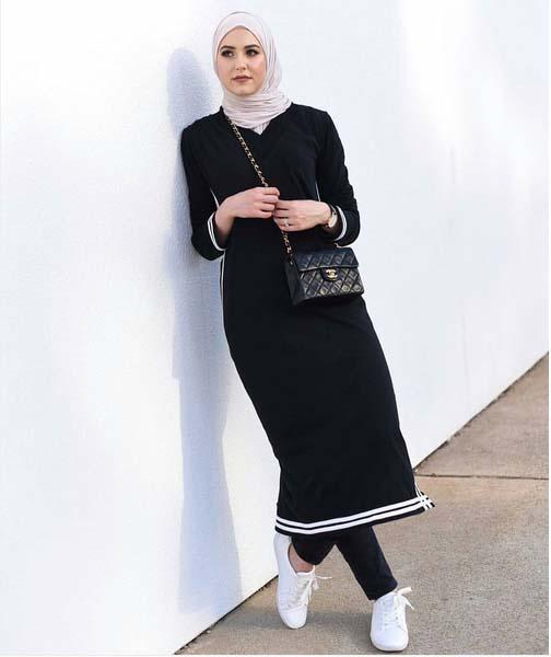 Style Hijab Moderne Pour été28
