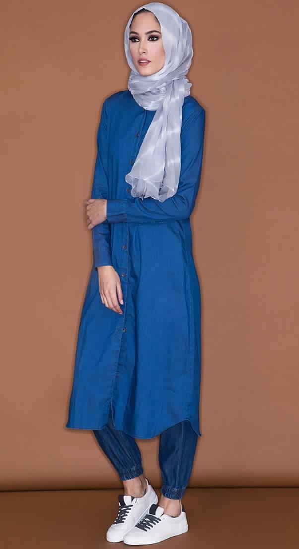Style Hijab Jean